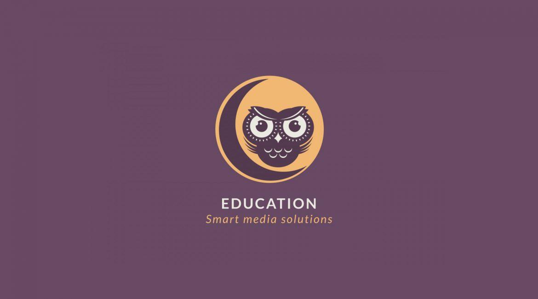 owl on the moon education logo