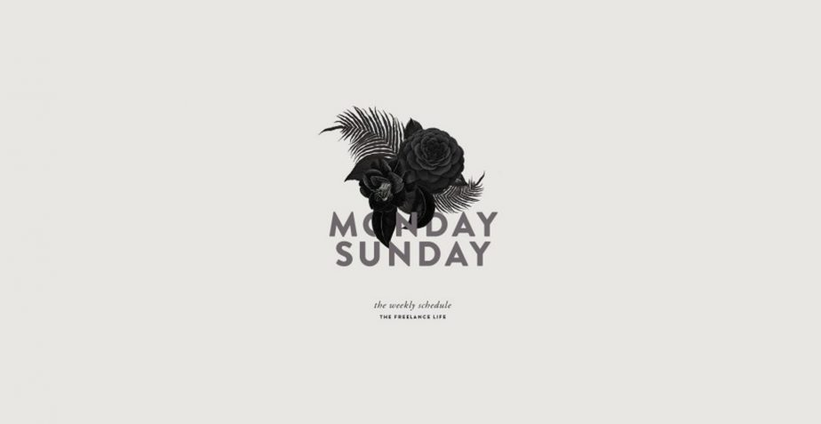 monday sunday poster art